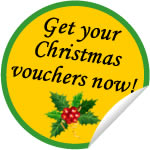 Get your Christmas vouchers now!